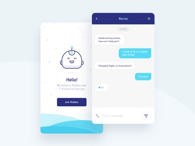 Robbie - Chatbot app character chatbot