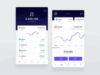 Cryptocurrency User - App