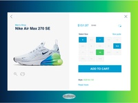 Nike Product Detail Page Design