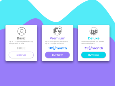 Daily Ui   Day 030 - Pricing
