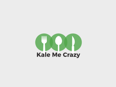 """Kale Me Crazy"" Logo"