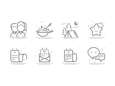 empty status illustration app design ui icon