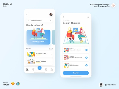 Educational app for Design Courses apps ui educational challenge uidesignchallenge designthinking uxdesign uidesign uiuxdesigner courses mobileapp uiux uiuxdesign design learning app educationapp app education