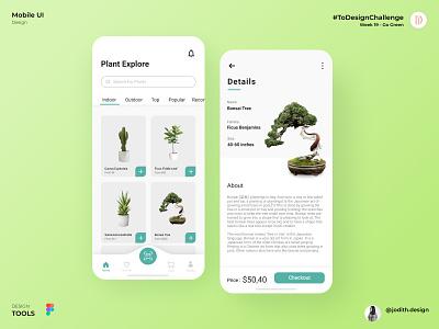Plant Shop App Design apps branding uidesignchallenge app uiux ui  ux go green app design mobile app uiux designer mobile design plants plant plant app uiux design ui design