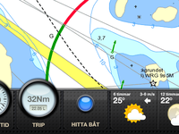 Eniro Sea Charts for iPad
