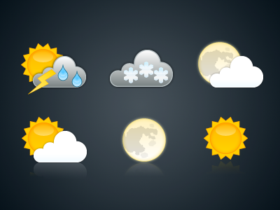 Weather icons for use with Yr.no weather icons yr.no free