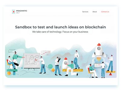 Sandbox to launch and test ideas on blockchain
