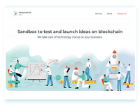 Sandbox to launch and test ideas on blockchain