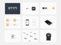 STYFI App Branding Collaterals