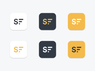 STYFI App Icon Options