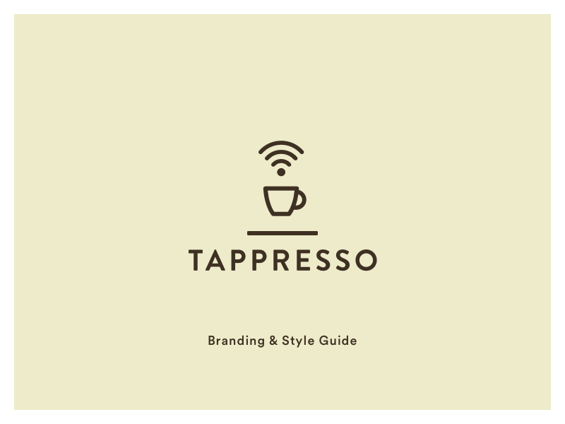 Tapresso branding   style guide