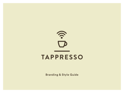 Tappresso Branding and Style Guide