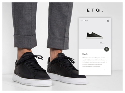 ETQ. - Concept App Screens 01 user interface app ui app design ecommerce shoes