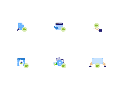 InVideo - Workflow Icons blog article app ux ui design invideo icon set icon icons design icons pack icon design iconography icons set iconset icons workflow