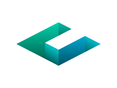 Collapsed.co Logo sunken c logo collapsed brand