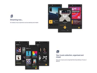 Web Audio Mixer Features player music mixer audio showcase features mobile