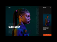 Carine fashion store - interaction concept aftereffects principleapp principleformac principle interaction animation layout fashion clean typography modern ux ui
