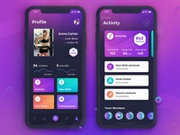 Beast Barz - profile screens