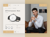 VERK Watches - product detail page concept