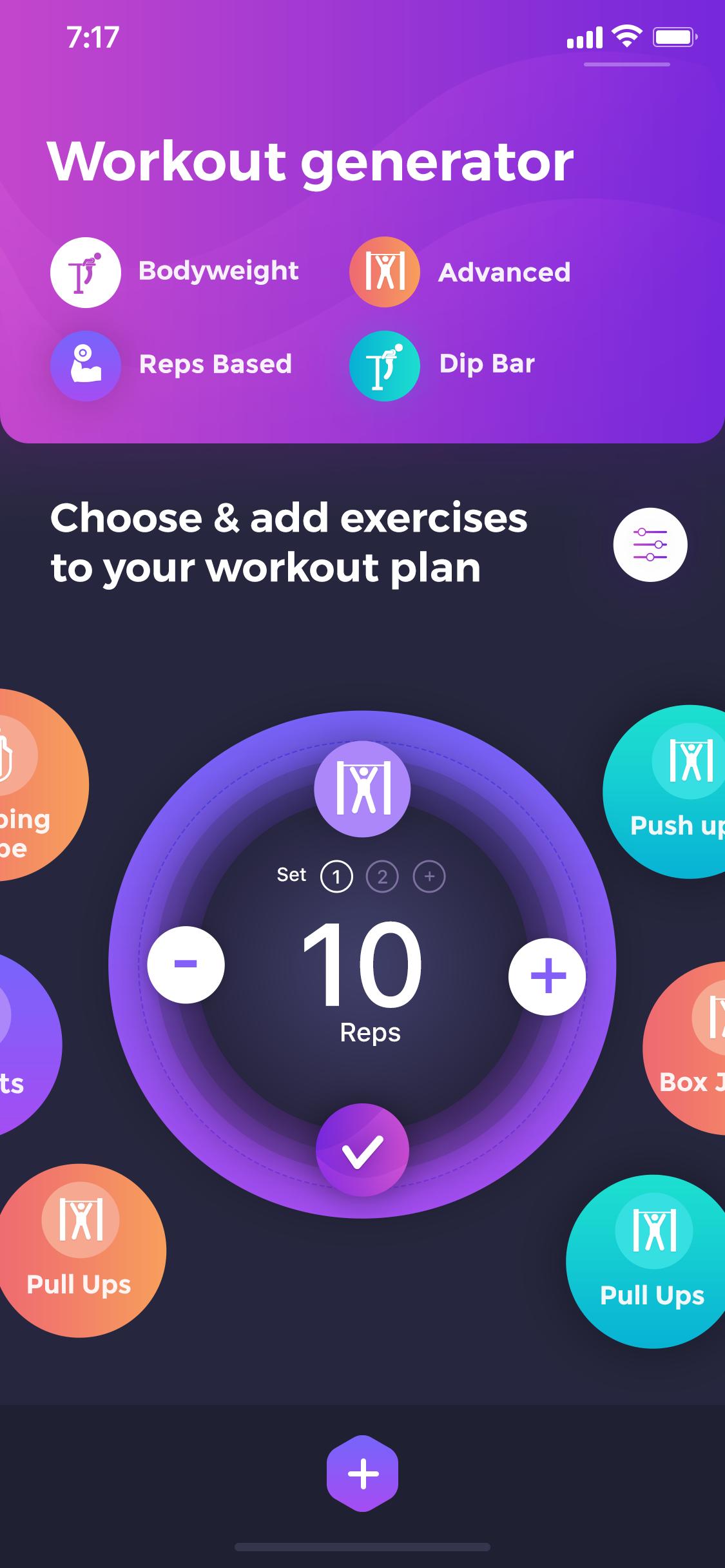 Beast barz workout generator screen4