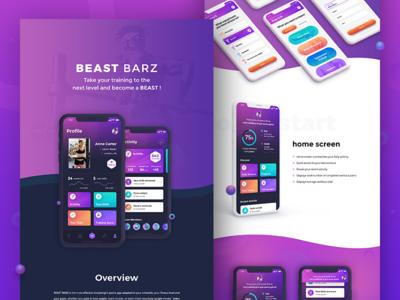 BEAST BARZ - behance presentation
