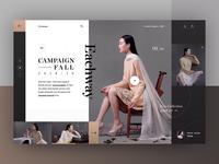 Eachway campaign 18/19 - Roxane fashion store