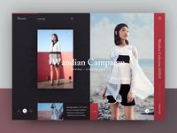 Wandian Campaign SS2019 - Roxane fashion store