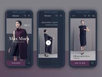 Roxane fashion store mobile designs - Resort 2019
