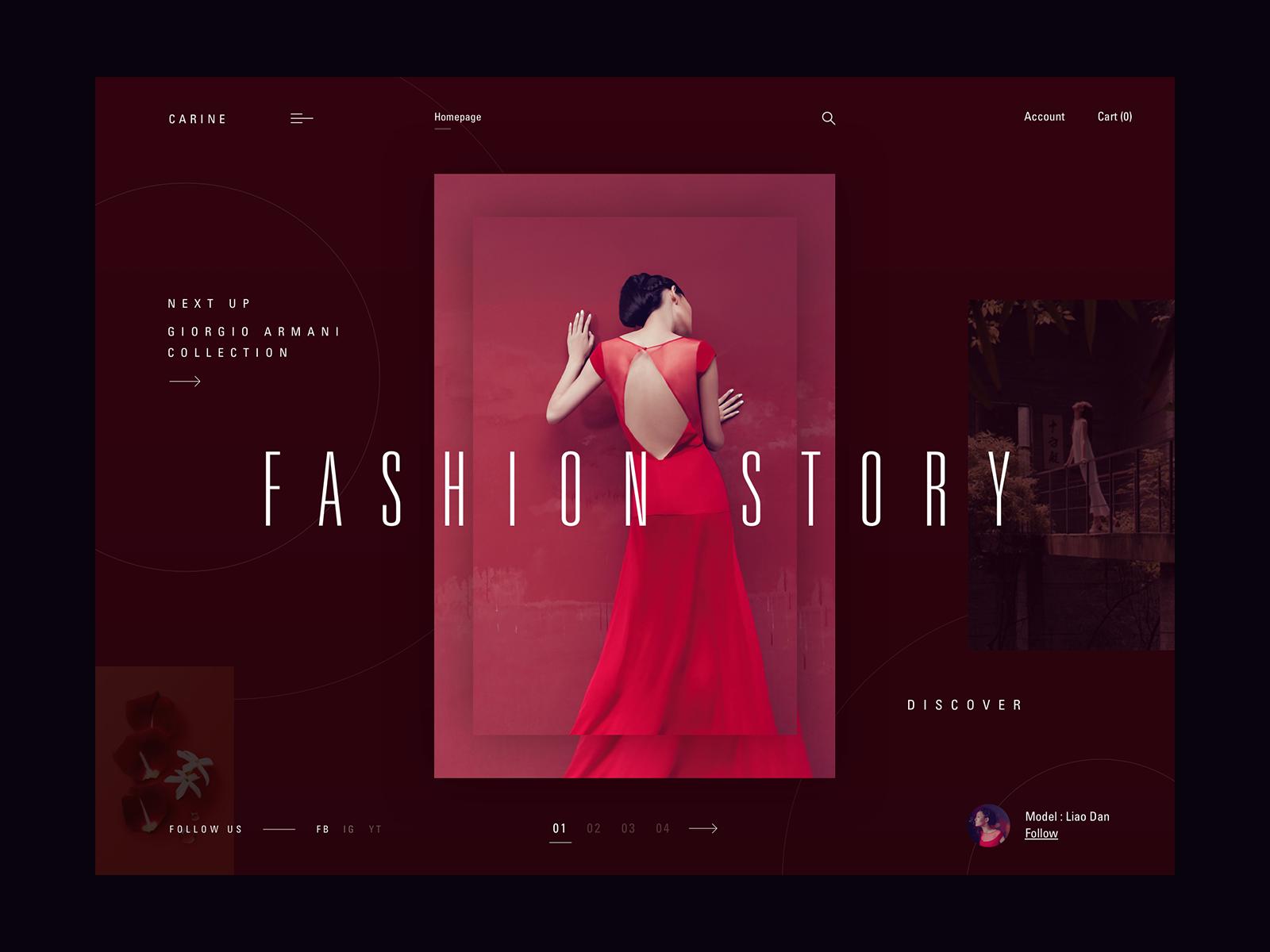 Fashion story dribbble final