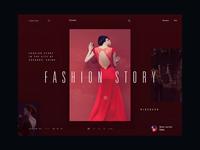 Carine fashion store - interaction concept