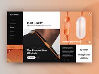 PLUS & NEST - Speaker and Headphones