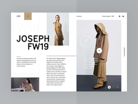Carine fashion store - JOSEPH FW19