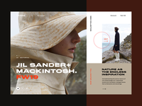 Carine fashion store - Jil Sander FW19 campaign