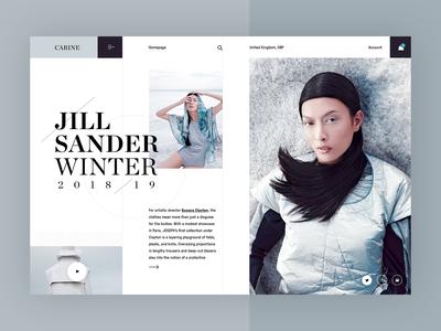 Carine fashion store - Jill Sander FW19 campaign v2