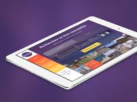 Colored ipad app