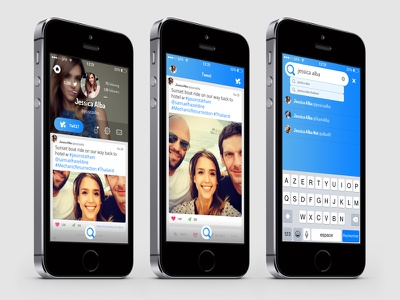 Twitter redesign twitter redesign mobile app iphone