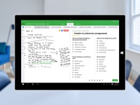 Microsoft Surface app for pharmacy inspectors