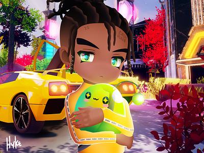 Yung Bans - Misunderstood 3d art 3d unity animation animeart anime pokemon go sportcar car yellow car green slime maplestory pokemon yung bans