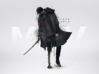 Forsaken Soldier garments apperal black yamamoto yohji y3 techwear fashion clothing aw16