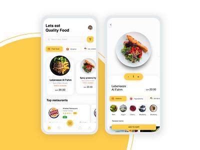 Food Ordering App app