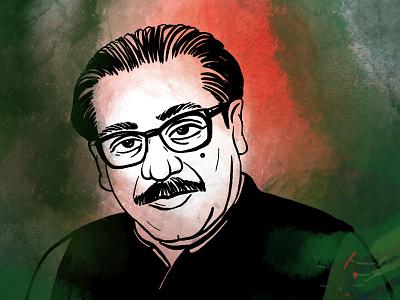 National mourning day of Bangladesh | 15 August 15 august national mourning day vector procreate graphic design illustration