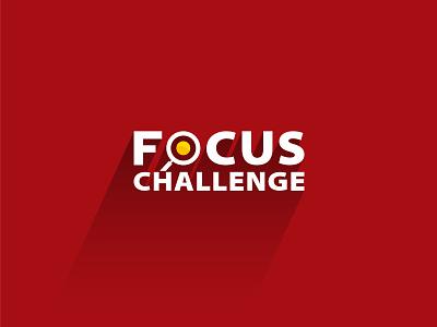 Logo design for Focus Challenge logos brandidentity icon mark brand branging identity design identity graphic design logo design vector typography design illustration logo