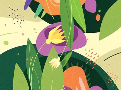 Flower of Bangladesh procreate phostoshop adobe illustrator flower artwork art graphic design branding vector illustration design