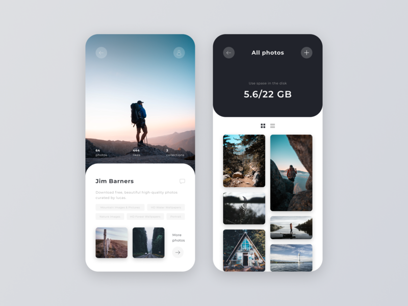 Daily UI #006 – User Profile