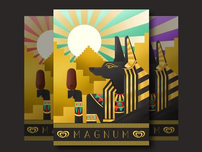 Poster Magnum Walls - Art Deco Style.