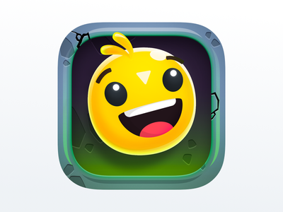 Bouncy Heroes App Icon Design game icon ios app icon app icon
