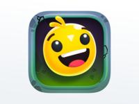 Bouncy Heroes App Icon Design