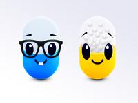 Happy Pills Character Design
