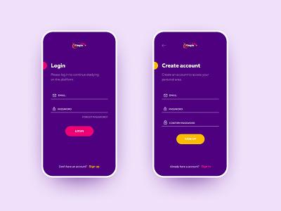 Daily UI 001 — Sign up page website design webdesign creativity registration mobile uxdesign ui ux signuppage login signin signup dailyinspiration dailyui