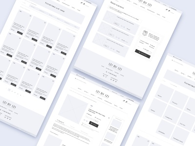 Prototype | Other page of the cosmetics store website korean woman uxui uxdesign wireframes ux store shop prototype mainpage homepage concept ecommerce cosmetic